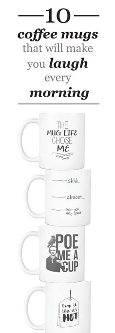 Sarcastic Coffee mugs that will make you laugh every morning!