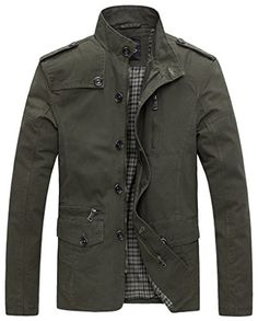 Wantdo Men's Soild Cotton Jacket US Small Military Green ... https://www.amazon.com/dp/B00C0JPIEM/ref=cm_sw_r_pi_dp_x_kog7xbQQJFJWC