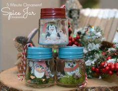 Tiny Jar Ornament