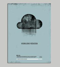 Afiches - Estados del mundo by Natalia Friol, via Behance