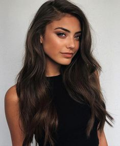 Long Wavy Ash-Brown Balayage - 20 Light Brown Hair Color Ideas for Your New Look - The Trending Hairstyle Ash Brown Hair Color, Brown Hair With Highlights, Light Brown Hair, Blonde Color, Dark Brown, Caramel Highlights, Dark Blonde, Auburn Brown, Caramel Balayage