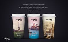 Akymbo Café (Concept) on Packaging of the World - Creative Package Design Gallery