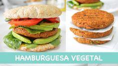 HAMBURGUESA VEGETAL | casera, fácil, deliciosa y muy saludable!