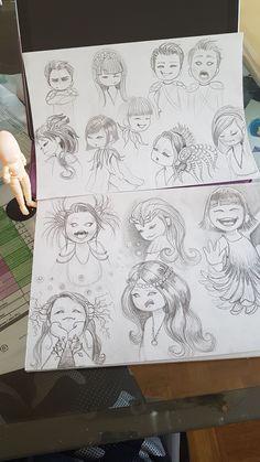 Tout commence par une feuille et un crayon papier...... Crayon, Fairy Tales, Illustration Art, Digital Art, Children, Everything, Paper, Young Children, Boys