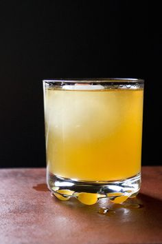 Penicillin  |  Created by New York bartender Sam Ross in 2005, this heady concoction of scotch, honey-ginger syrup, and fresh lemon juice is something of a cure-all—hence the name. | SAVEUR