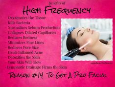 Benefits Of High Frequency~ See An Esthetician - #BENEFITS #Esthetician #Frequency #High