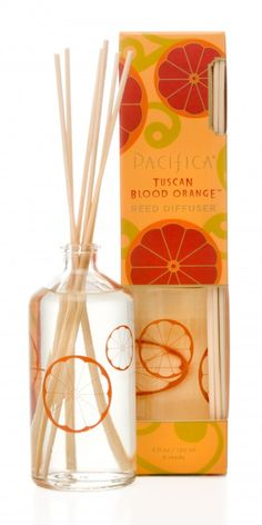 Pacifica Perfume Tuscan Blood Orange Reed Diffuser