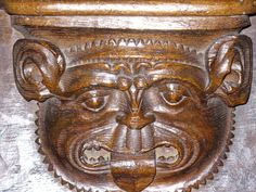 St Mary's, Fairford - Misericord (C) Colin Smith