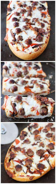Easy French Bread Pizza | Recipe