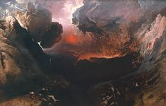 John Martin 'The Great Day of His Wrath' 1851-3