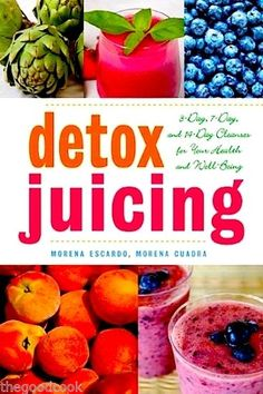 Detox Juicing 3, 7, and 14 Day Detox Cleanses to Lose Weight Detoxify Fight Disease Live Long  ~ New Book , On Sale and Ready To Ship !