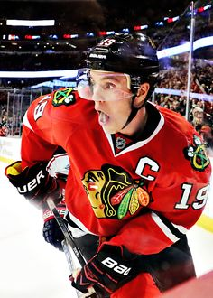 Jonathan Toews #19 ~ Chicago Blackhawks