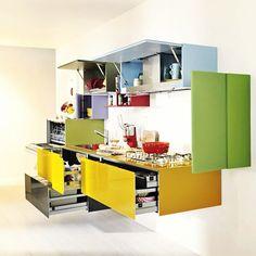 #lago #design #lagodesign #furniture #colors #colours #kitchen #innovation #creativity #multicolor #storage Web Instagram User » Followgram