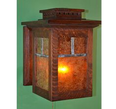 Arts and Crafts Wall Sconces