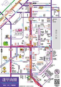 taichung map