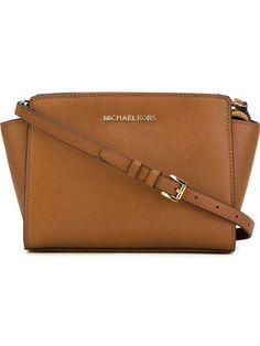 705c61d1a2 Michael by Michael Kors Women s 30t3glmm2l230 Brown Leather Shoulder Bag  for sale online