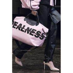 "3a05e807f733  longchamp on Instagram  ""Pink is  Real  LongchampByShayneOliver"""