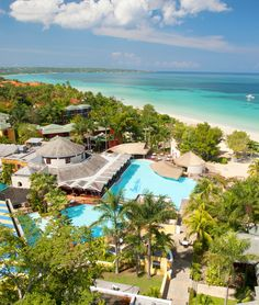 Lovely view from Beaches Negril! I love this property. visit www.scullyusa2.com to book your next family getaway!