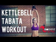 25 Minute Kettlebell Tabata Workout for Fat Burning and Strength - YouTube