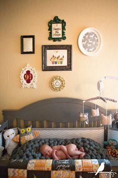 ToMorrow's Memories Photography Blog | Harry Potter Nursery | Newborn Sneak Peek
