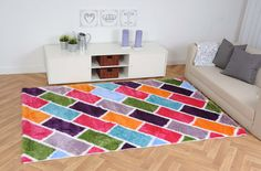 hochflor teppich bunt teppich 80 x tennisschuhe damen. Black Bedroom Furniture Sets. Home Design Ideas