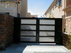 modern driveway gate