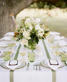 Southern weddings - green wedding inspiration