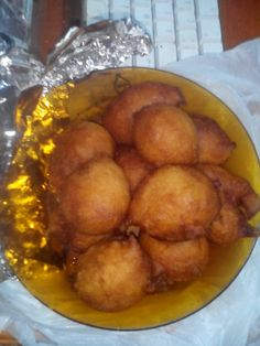 African fritters.