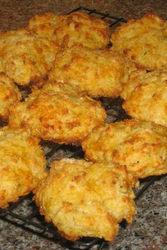 Downunder Cheese Puffs ~ These are not popovers and have nothing to do with bread. These are very quick snacks that you can whip up during commercial breaks when you are watching TV and you feel like something cheesy