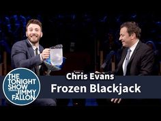 Chris Evans and Jimmy Fallon Play 'Frozen Blackjack' - Hollywood Reporter