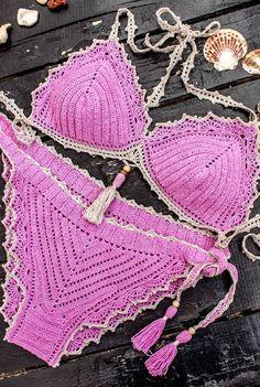 57+ Ideas Hermosas y Asombrosas del Modelo del bikiní del Ganchillo Part 3; bikini de ganchillo patrones; bikini de ganchillo tutorial Underwire Bikini Top, Bikini Tops, Bikinis, Swimsuits, Swimwear, Rip Curl Bikini, Bikini Outfits, Bikini Cover Up, Beachwear For Women