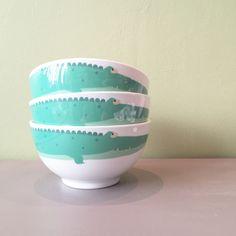 bowl Petit jour Paris. arty frog collection. Les crocodiles.