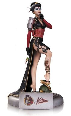 DC Comics Bombshells Statue Katana 27 cm