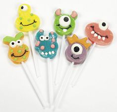Monster suckers for a monster themed party?!?!