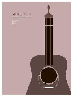 Design by Jason Munn (another particular  designer favourite) for Mark Kozelek