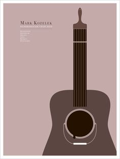Design by Jason Munn (another particular  designer favourite) for Mark Kozelek