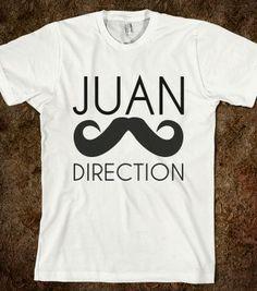 JUAN - glamfoxx.com - Skreened T-shirts, Organic Shirts, Hoodies, Kids Tees, Baby One-Pieces and Tote Bags