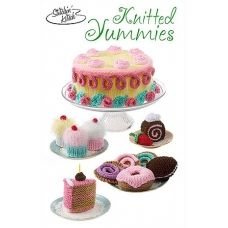 Knitted yummies - toy / play food knitting pattern
