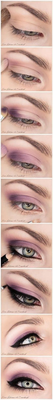 Purple Eye Makeup Inspiration