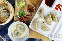 Mushroom Dumplings 3 Ways: Boiled, Steamed, and Pan-fried | Vegan Recipe