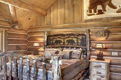 Log Cabin Interior Decorating Ideas Bedrooms