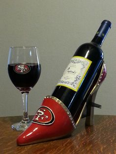 Nothing is better than a 49ers wine glass!