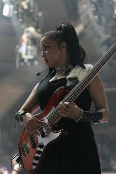 Rhonda Smith, this is a pin that needs a love button. Awesome bass player.