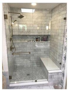 Diy Bathroom Remodel, Diy Bathroom Decor, Shower Remodel, Bath Remodel, Bathroom Renovations, Bathroom Interior, Bathroom Ideas, Budget Bathroom, Bathroom Shelves