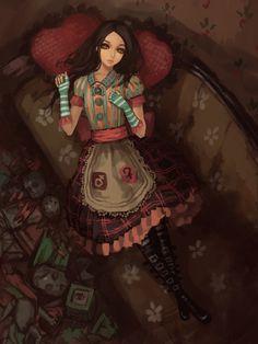 Alice 01 - alice-madness-returns-fanclub Fan Art