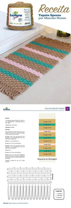 There are many types of Satin stitch.In Bangla language Satin stitch is called Vhorat Salai.Here I have shown 2 types of Satin stitch. Crochet Doily Rug, Crochet Carpet, Crochet Home, Diy Crochet, Crochet Crafts, Crochet Stitches, Embroidery Stitches, Crochet Projects, Crochet Patterns