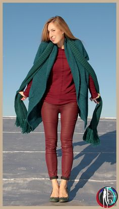 Fashion Diva - Outfit of the week - Burgundy-Bordeaux - Fall 2014 http://www.fashiondiva-parisnyc.com/#!outfit-of-the-week/c1gl2