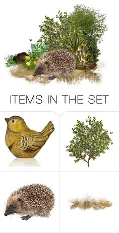 """""""Little Hedgehog."""" by cardigurl ❤ liked on Polyvore featuring art"""