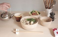 japanese design studio mute's dishware