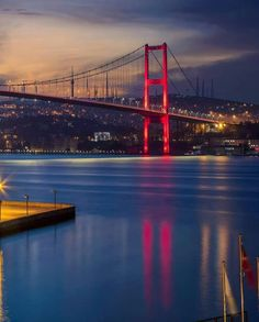 Places Worth Visiting, Places To Visit, Road Trip Map, Turkey Photos, Golden Gate Bridge, Beautiful Places, Scenery, World, City